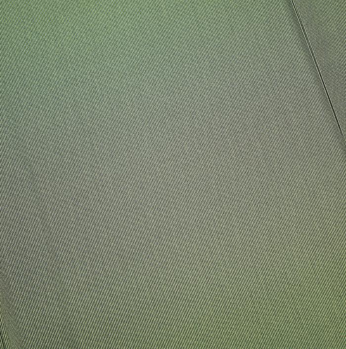 江戸小紋、万筋、グレーグリーン系、柄行模様画像