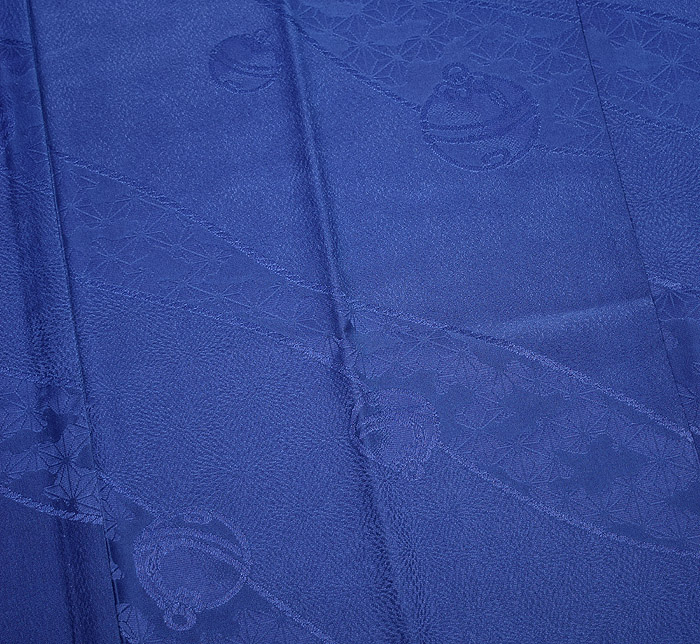 長襦袢、ブルー、鈴文、柄行模様画像