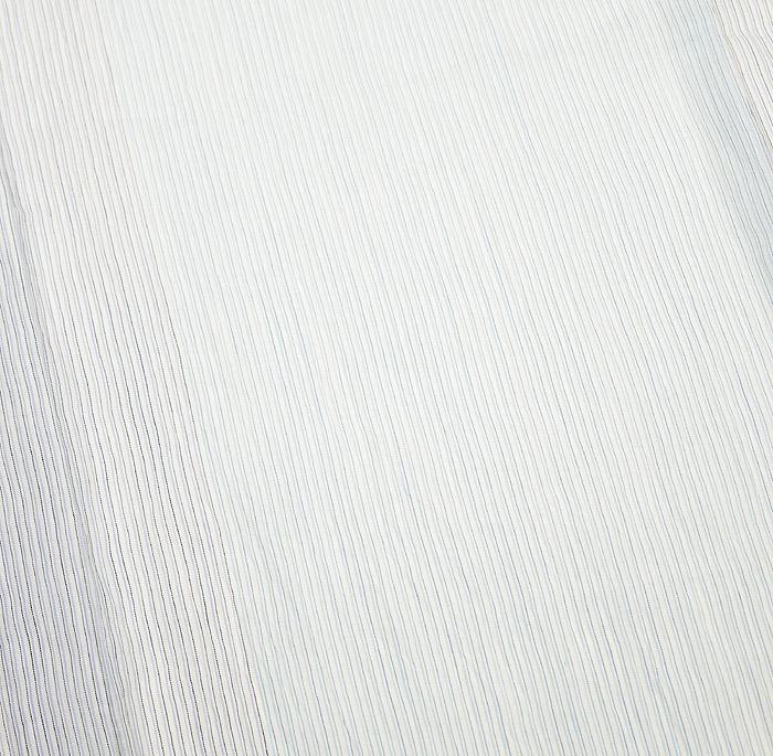 夏着物、小千谷ちぢみ、ライトブルー、細縞、柄行模様画像1