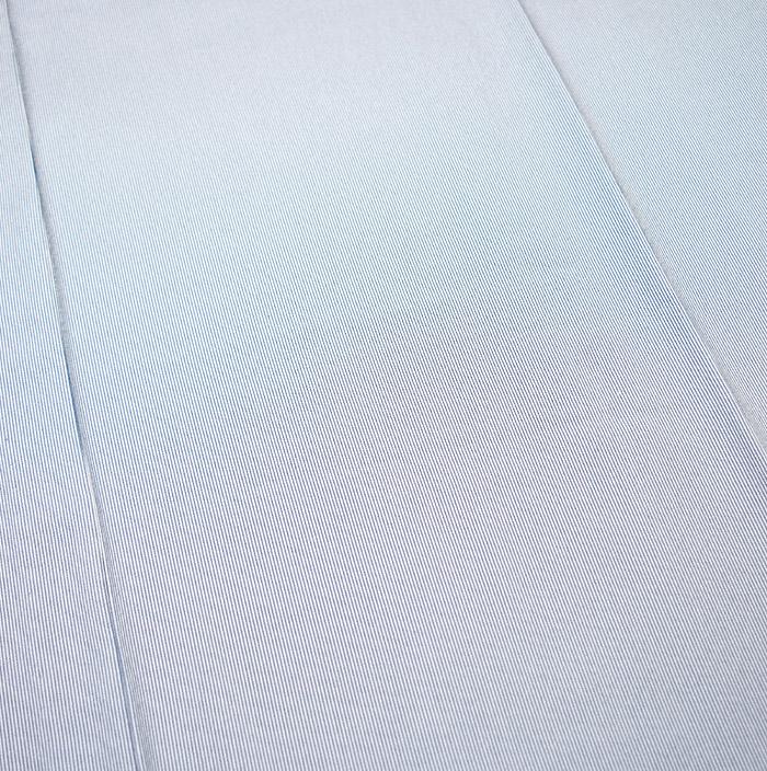 単衣江戸小紋、ライトブルー系、万筋、柄行模様画像