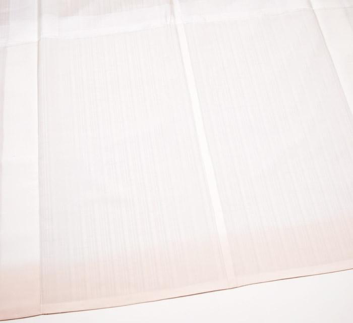 ぜんまい紬、ライトピンク、縞、八掛画像
