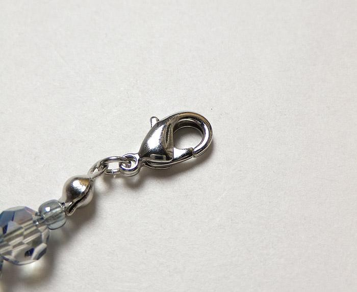 長羽織、グレーブルー系、源氏香付属、クリスタル羽織紐画像1