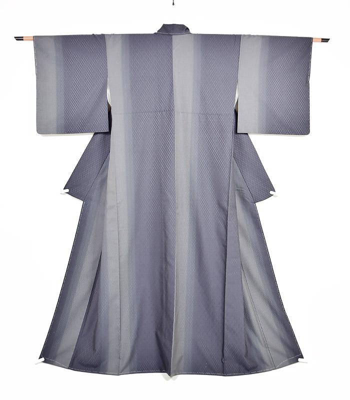 紬、紺、綾織、全体画像